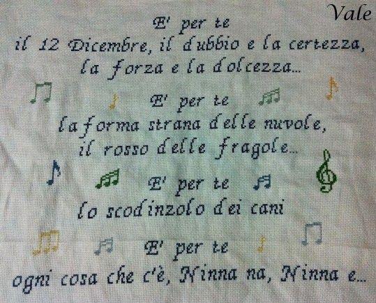 Lavoro per Liliana (Roma).  Visita la mia pagina Facebook: IL PUNTO CROCE DI VALE