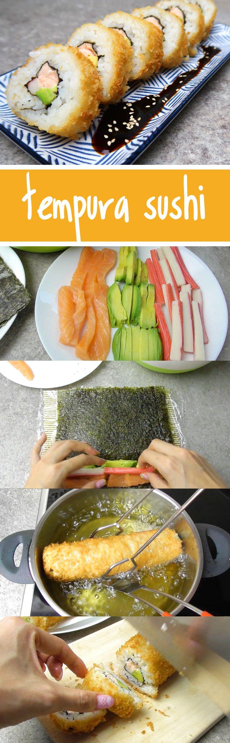 Für alle, die keinen rohen Fisch mögen, ist Tempura Sushi (frittiertes Sushi) eine gute Alternative. Das Rezept dazu ist gar nicht so schwer, im Video zeige ich euch Schritt für Schritt, wie einfach Japanisch Kochen geht.