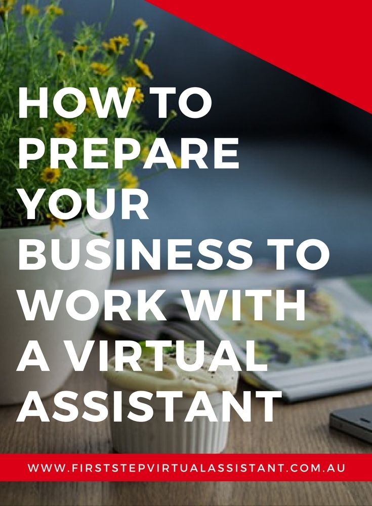 How to prepare your business to work with a virtual assistant | Outsourcing | Virtual Team | Online Content Management | Growing your business