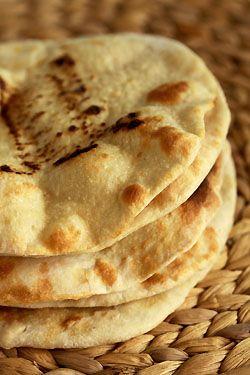 Pain pita libanais - Cuisine campagne - Vegan recipe - Recette végétalienne