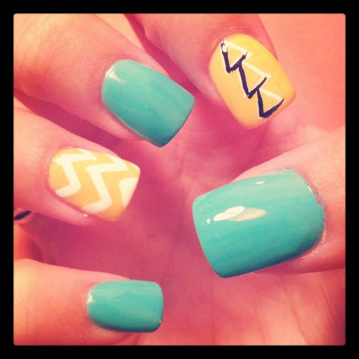 ΔΔΔ painted nails