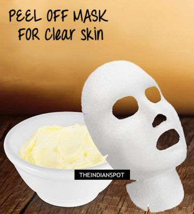 Peel Off Mask to Clear blackheads and shrink Pores