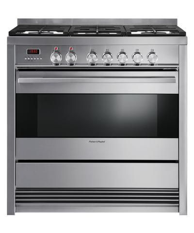 OR90SDBGFPX1 - 90cm Pyrolytic Freestanding Dual Fuel Cooker - 80868