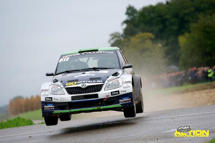 Despair for Paddon at French rally. Stuck in a ditch, Hayden Paddon's hopes of winning the FIA Super 2000 World Rally Championship category in Rallye de France Alsace disappeared as quickly as the momentary error that left Paddon and co-driver John Kennard stranded. #WRC #4x4 #HaydenPaddon