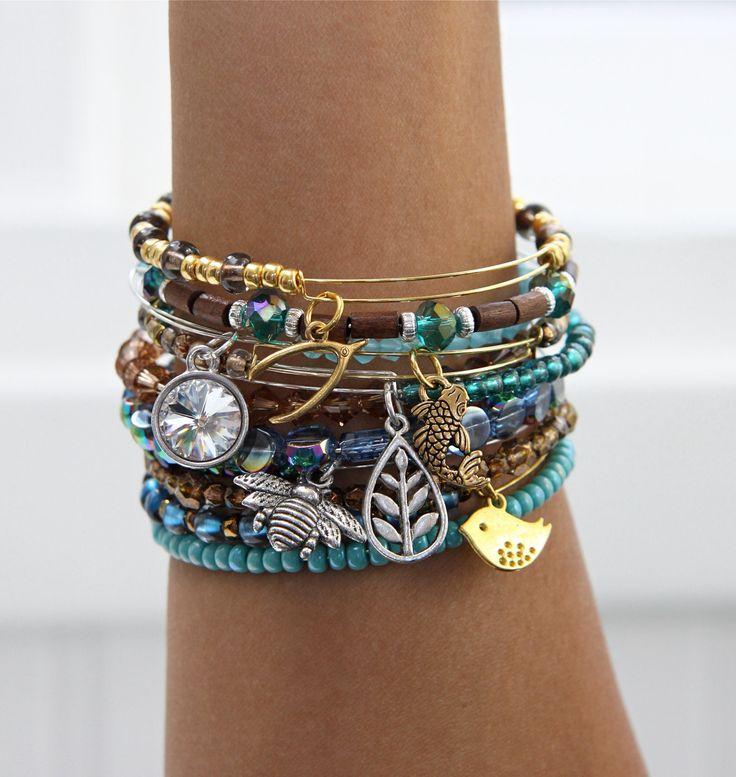 Boho Bangles and Bracelets