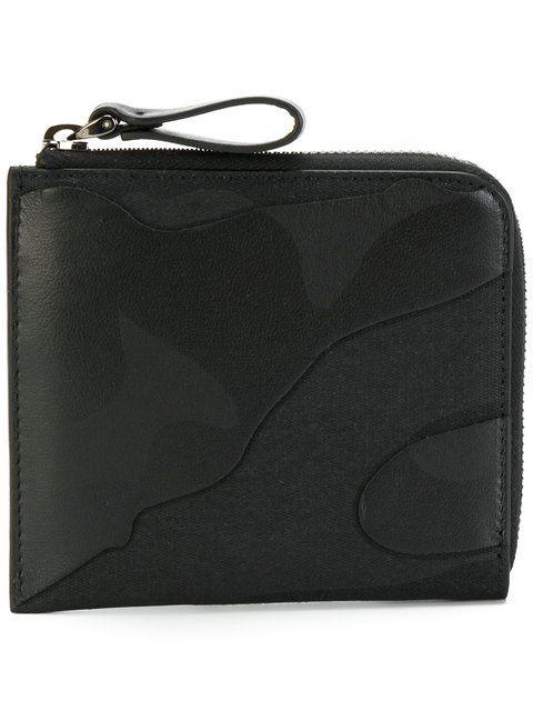 Valentino Valentino Garavani camouflage wallet