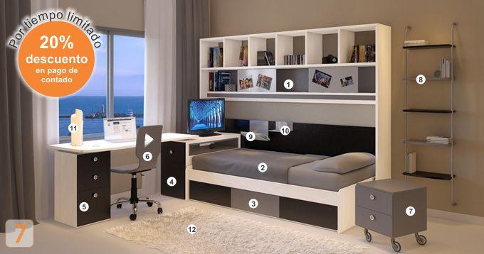 1000 ideas sobre camas marineras en pinterest for Muebles juveniles de madera