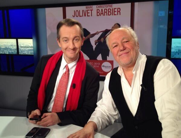 Christophe #Barbier et Marc #Jolivet