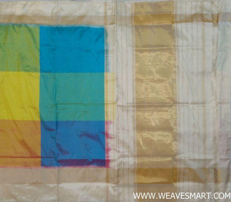 Pochampally-ikat-silk-saree sale- POC01504