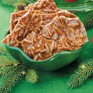 Cinnamon Almond Brittle..xmas gift candy