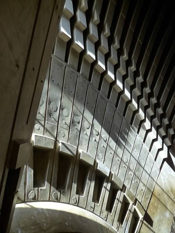 Sydney Opera House (detail), Sydney. Year: 1973; Architect: Jorn Utzon.