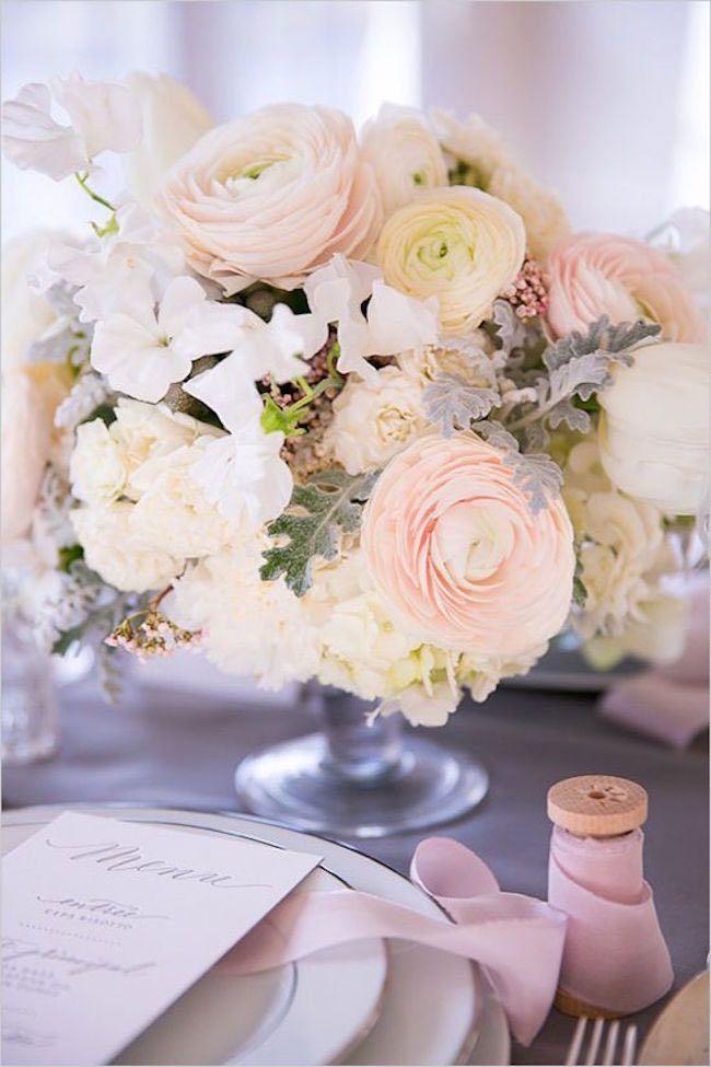 photo: Le Secret d'Audrey via Wedding Chicks; wedding centerpiece idea;