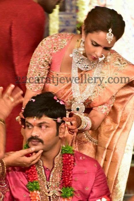 Lakshmi Manchu Daughter Jewelry