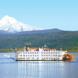 Columbia and Snake River Cruises - starts in Oregon and ends in Idaho.