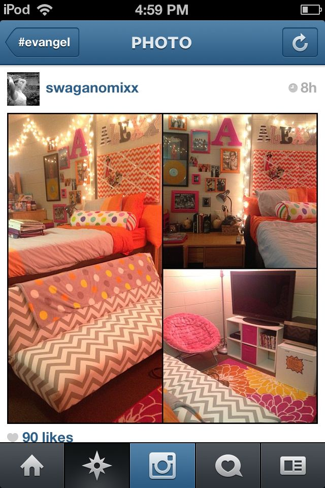 108 best images about dorm room layout on pinterest for Cool dorm room layouts