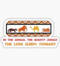 Africa Symbol 2 Sticker