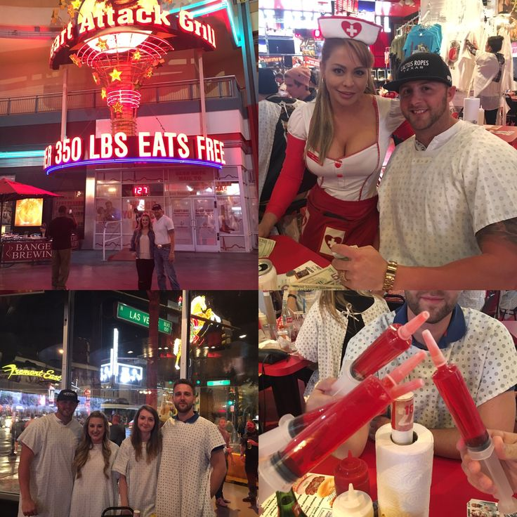 Heart attack grill freemont st Las Vegas