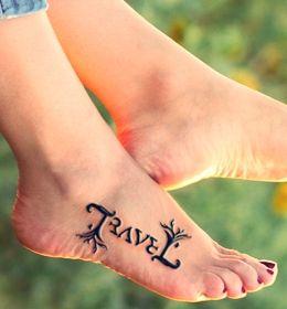Ambigram tattoo design idea
