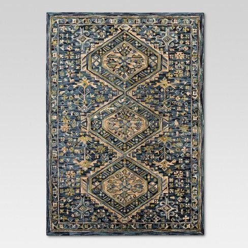 Botanical Hooked Area Rug 9 X12 Threshold Target