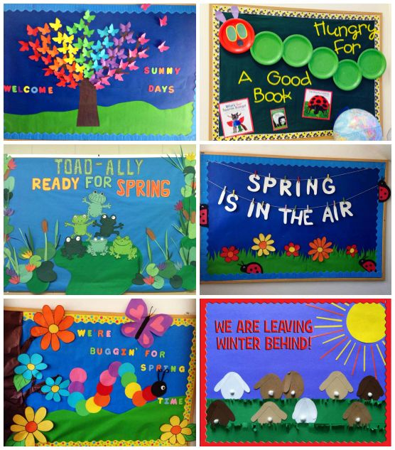 Spring Bulletin Board Ideas Daycare Pinterest Crafty And
