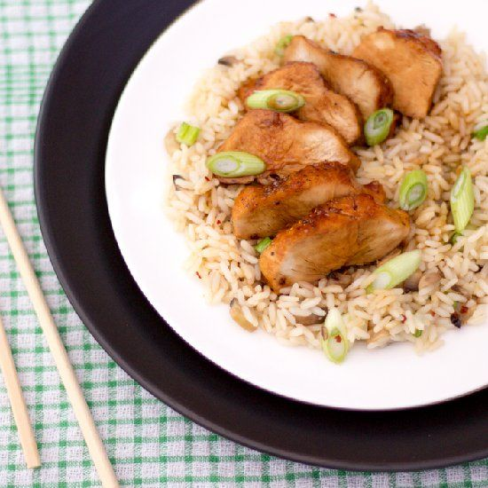 Insanely easy, delicious & authentic chicken teriyaki recipe for two!