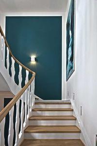 Hier sehen Sie, wie ein Treppenhaus aus den 30er J…