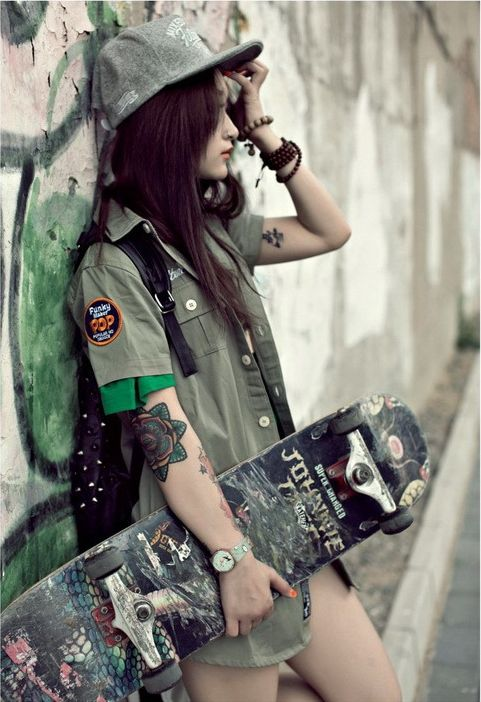 Prime 1000 Ideas About Skater Girl Hair On Pinterest Skater Girls Short Hairstyles Gunalazisus