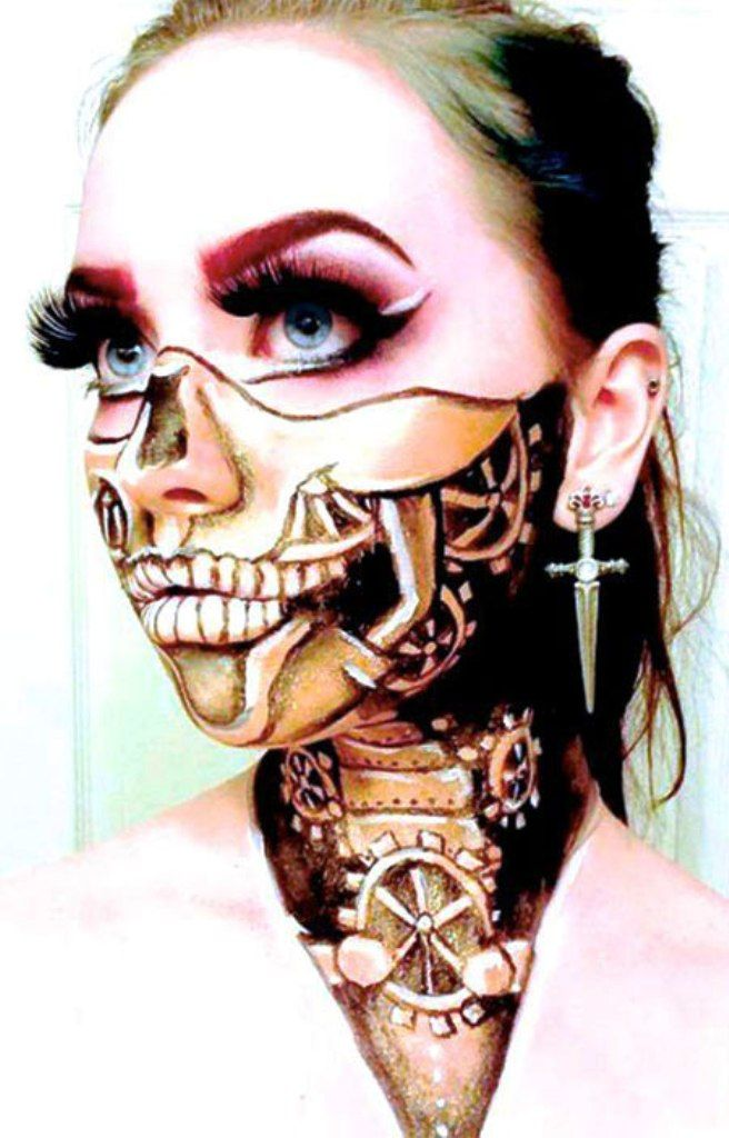 25+ best ideas about Unique halloween makeup on Pinterest - Amazing Halloween Makeup