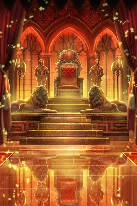 My concept of Casterly Rock's throne hall, when the ...