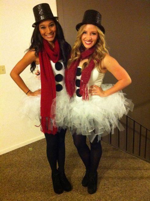 Snowman Halloween Costume Or Christmas Party Idea
