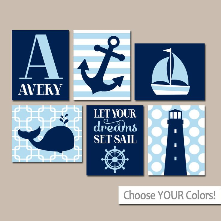 Baby Nash S Vintage Nautical Nursery: 25+ Best Ideas About Nautical Wall Art On Pinterest