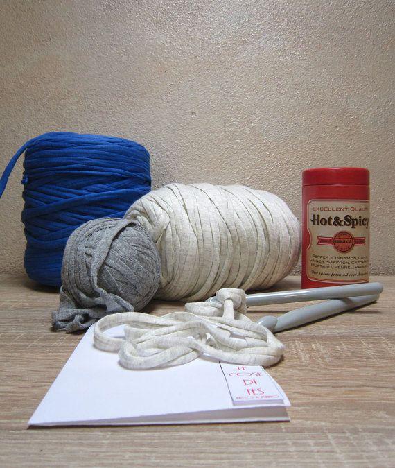 Crochet Kit Bracelet DIY bracelet Crochet Pattern by lecosedites