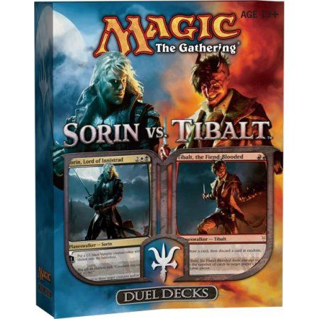 MtG Duel Decks: Sorin vs. Tibalt Sorin vs. Tibalt Duel Decks, Multicolor