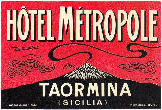 Hotel Metropole, Taormina, Sicily.