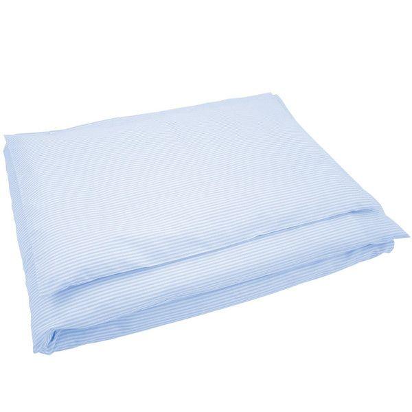 Bettwäsche groß Streifen hellblau von Sugarapple via dawanda.com