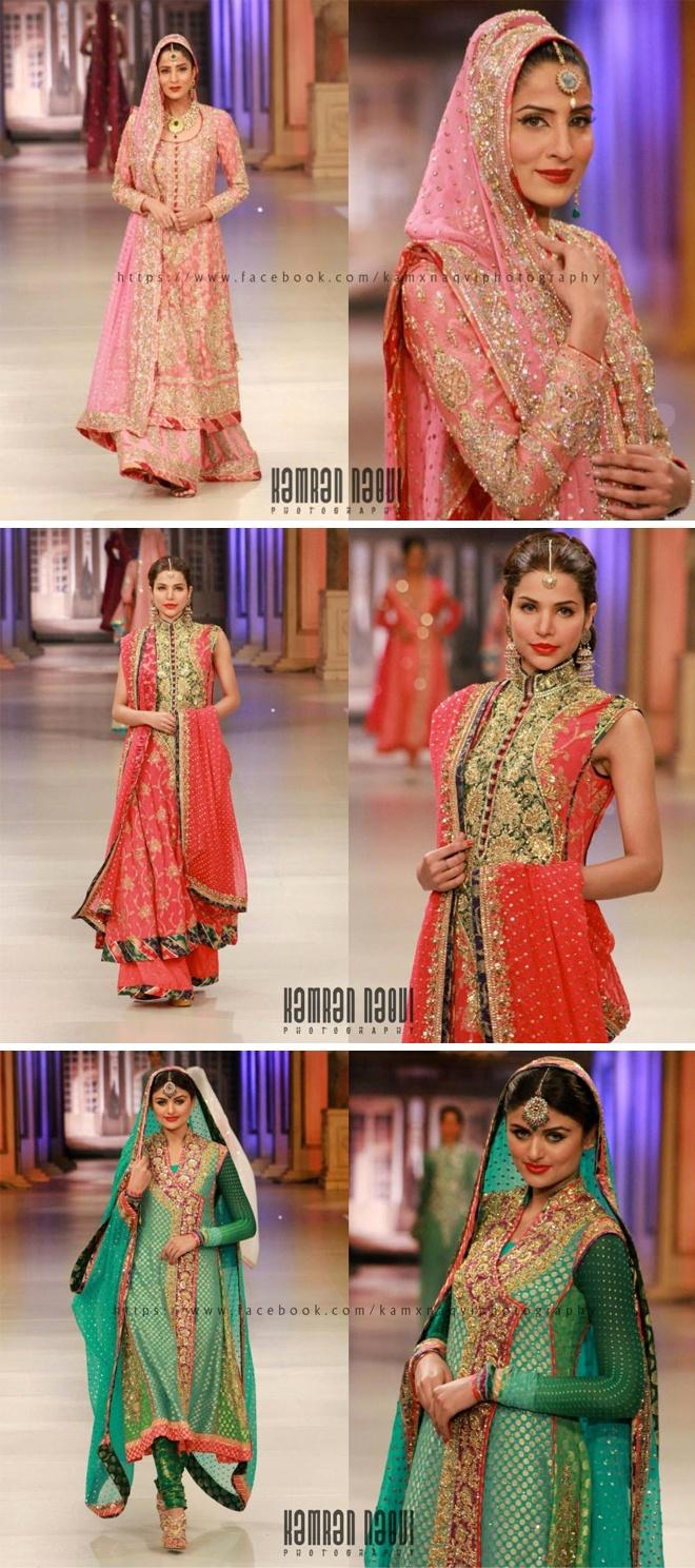 Pakistani Bridal Collection - Walima, Nikah & Mendhi Outfits