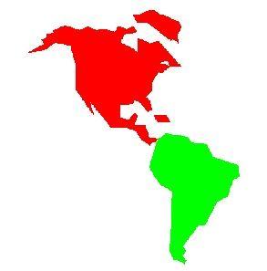 5. En México se mezclan las plantas y animales de Norte América (como el mapache) y de Sudamérica (como el tlacuache).