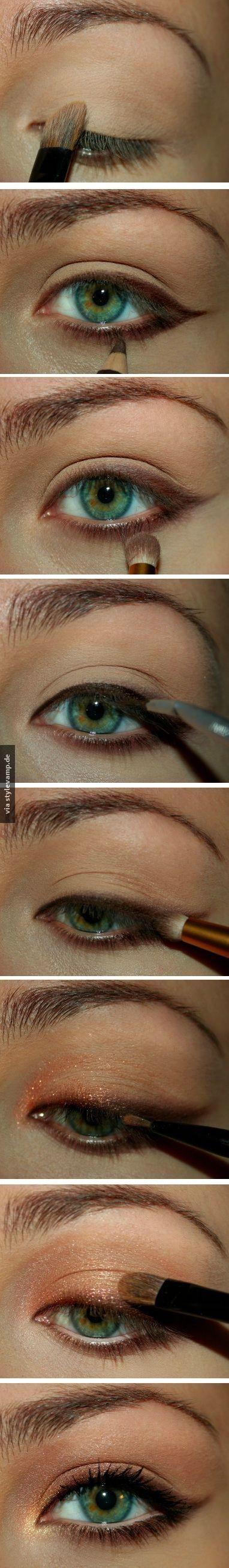 Intensiviere deinen Augenaufschlag mit Kupfer!