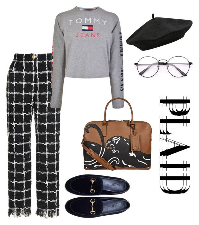 """Untitled #53"" by hfirlyana on Polyvore featuring Tommy Hilfiger, Gucci, Valentino and M&Co"