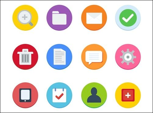 40 Beautiful Free Flat Icon Sets You Can Grab