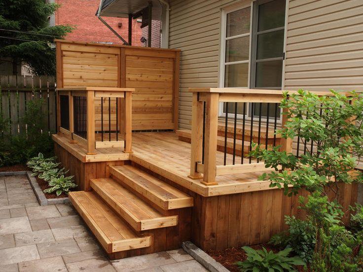 patio en bois - Recherche Google
