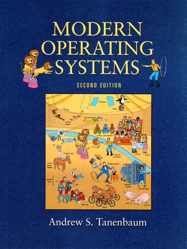 Modern Operating Systems  by Andrew S.Tanenbaum