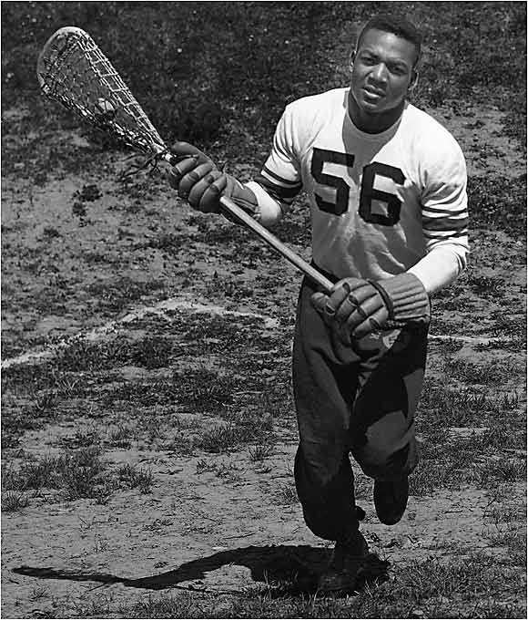 Legends Original Inside Sports: Syracuse Lacrosse All American And Hall Of Famer Jim Brown