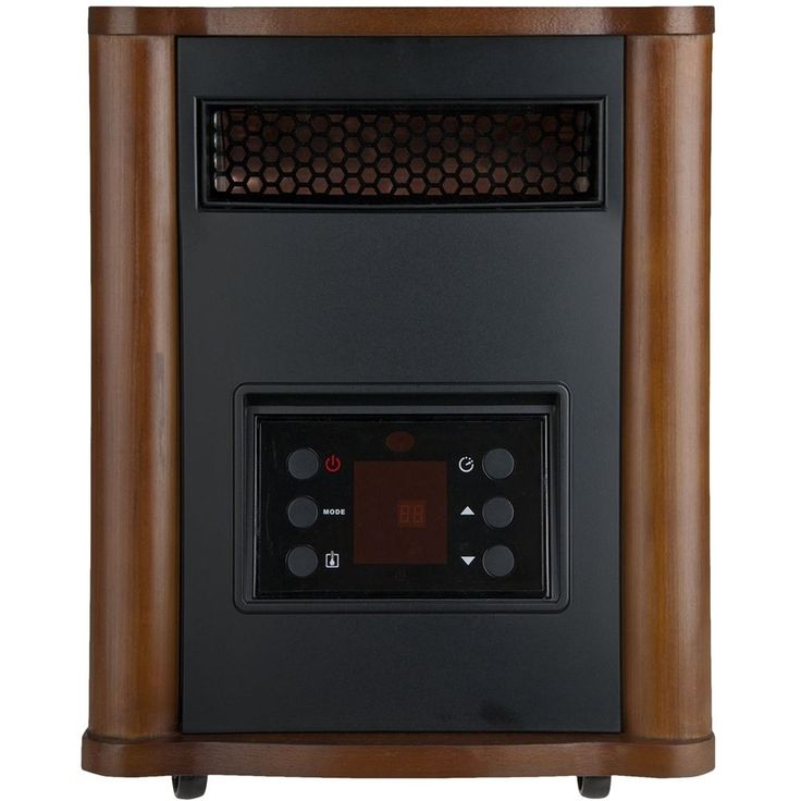 Holmes - Electric Cooling Fan Heater - Brown/black, HRH7403EREDM