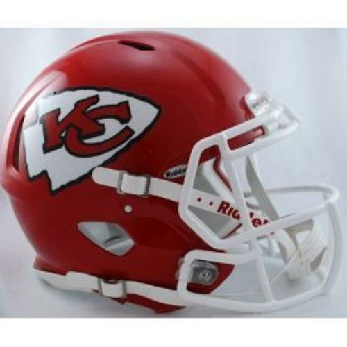 Kansas City Chiefs Authentic Speed Riddell Full Size Helmet