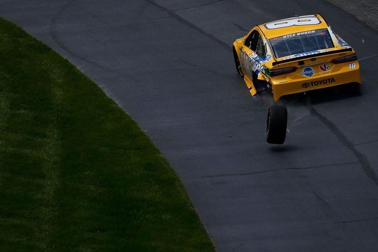 Kyle Busch, Joe Gibbs Racing face major penalties after wheel comes off during Dover NASCAR race