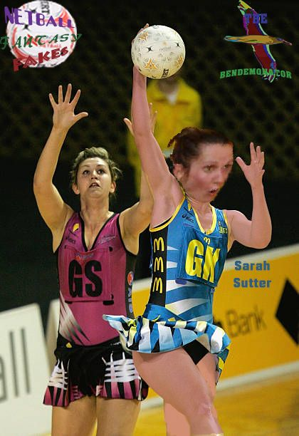 NETBALL FANTASY FAKES - Sarah Sutter of the Hunter Jaegers in action against the AIS Canberra Darters duing the 2006 CBT season