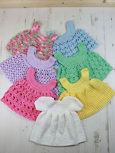 Crochet Patterns For Baby Shrugs : 1000+ ideas about Crochet Baby Dresses on Pinterest ...