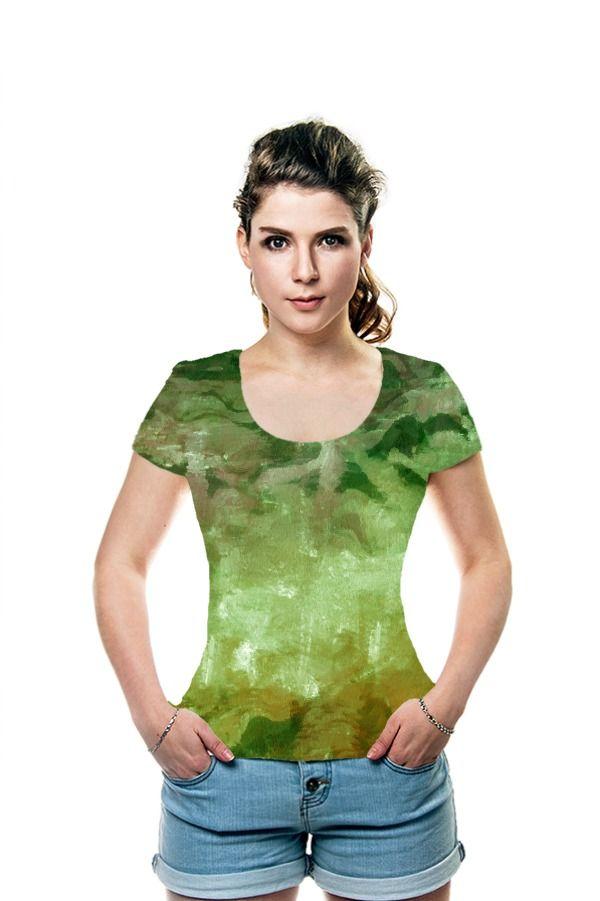 Abstract art Green