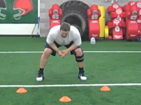 Taylor Boggs O-line Academy Drills - YouTube